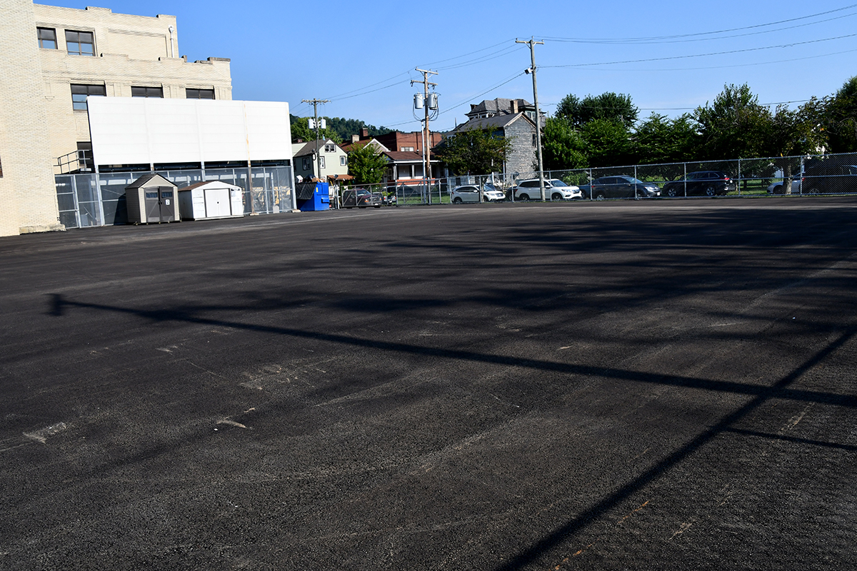 Parking/Playground Area
