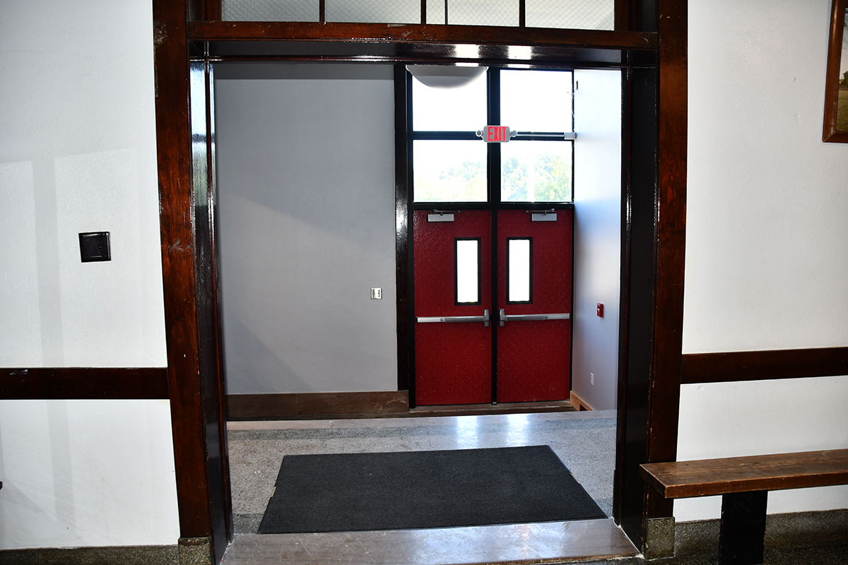 Office/Front Entrance renovations