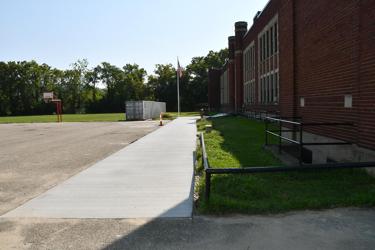 Paving and sidewalk upgrades