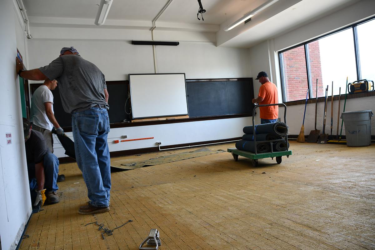 Classroom upgrade