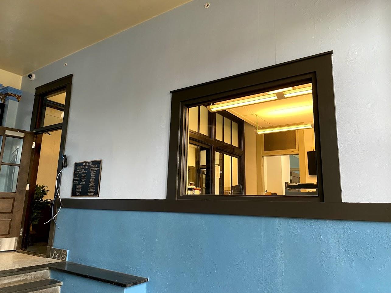 Secure entrance renovations