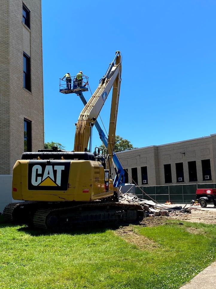 Exterior demolition