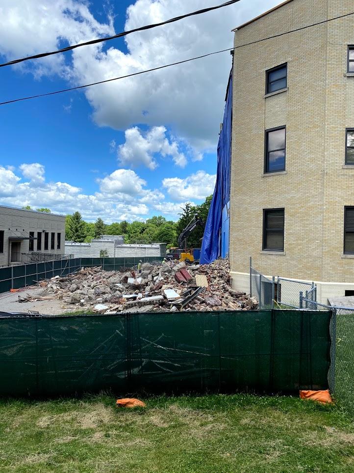 Exterior demoltion