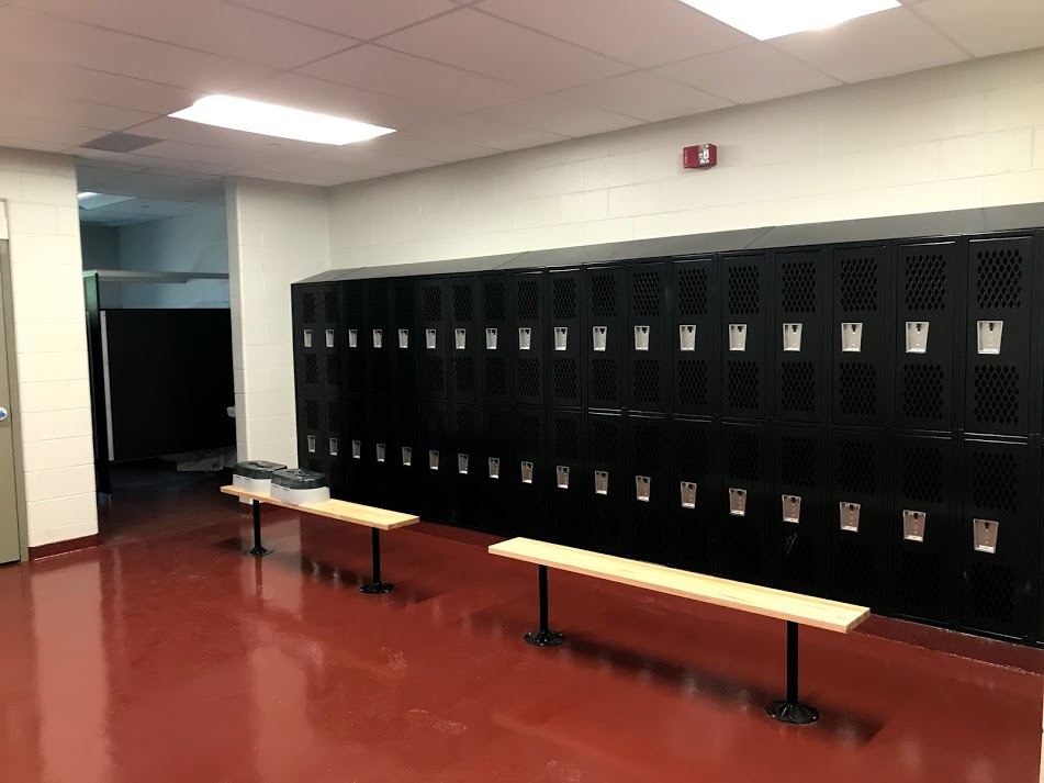 Locker Room renovations