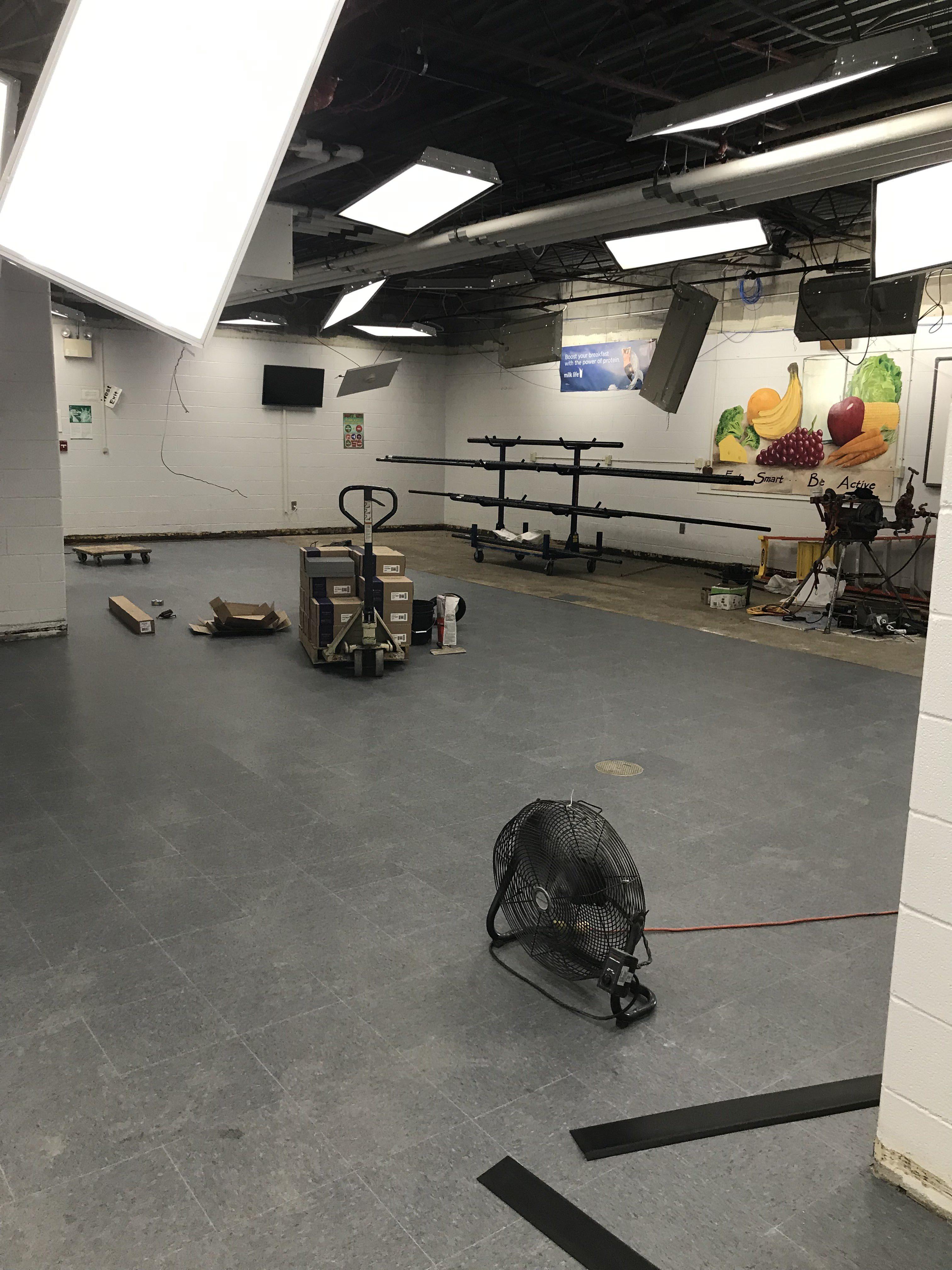Cafeteria upgrades
