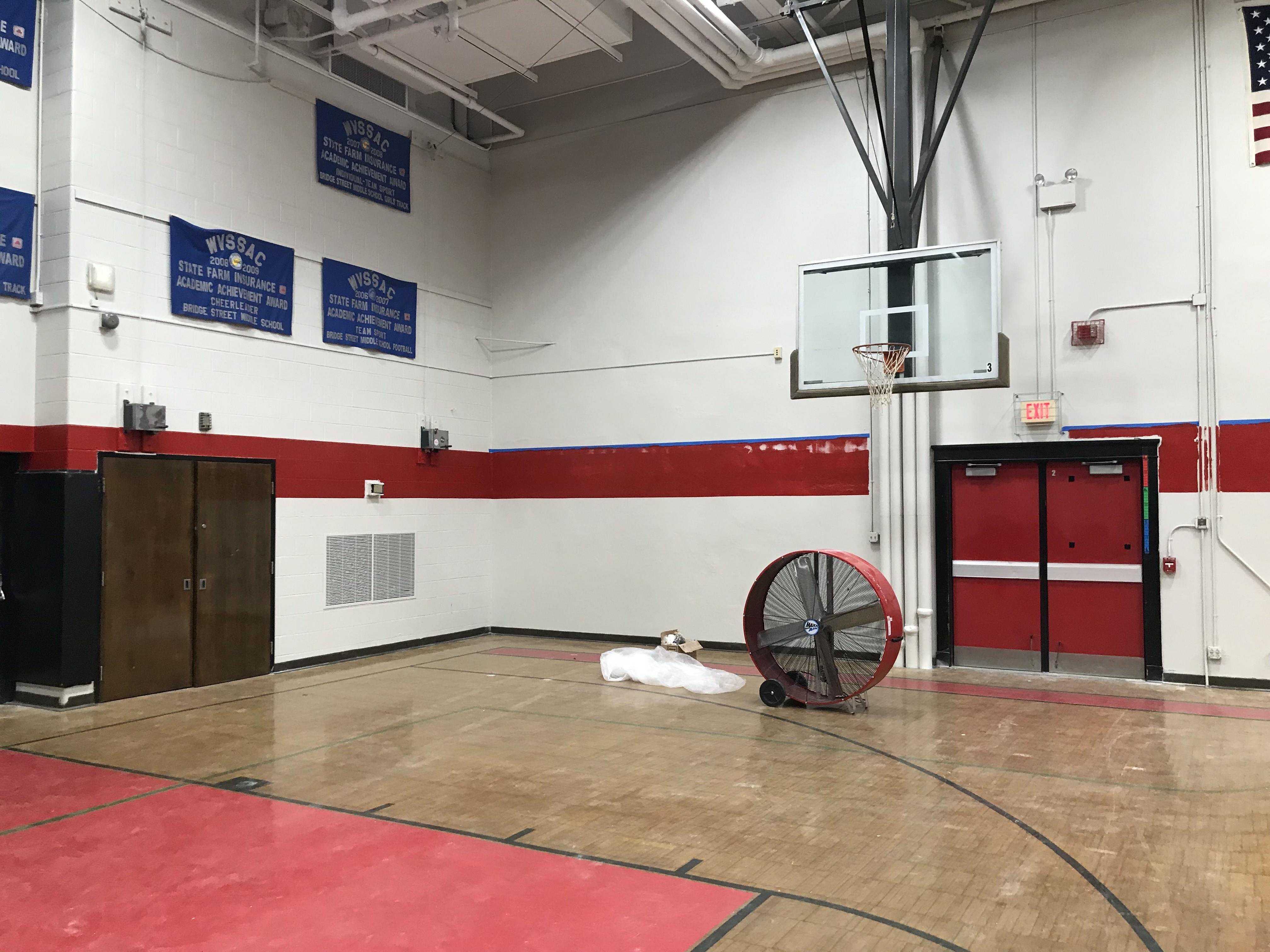 Gym renovations