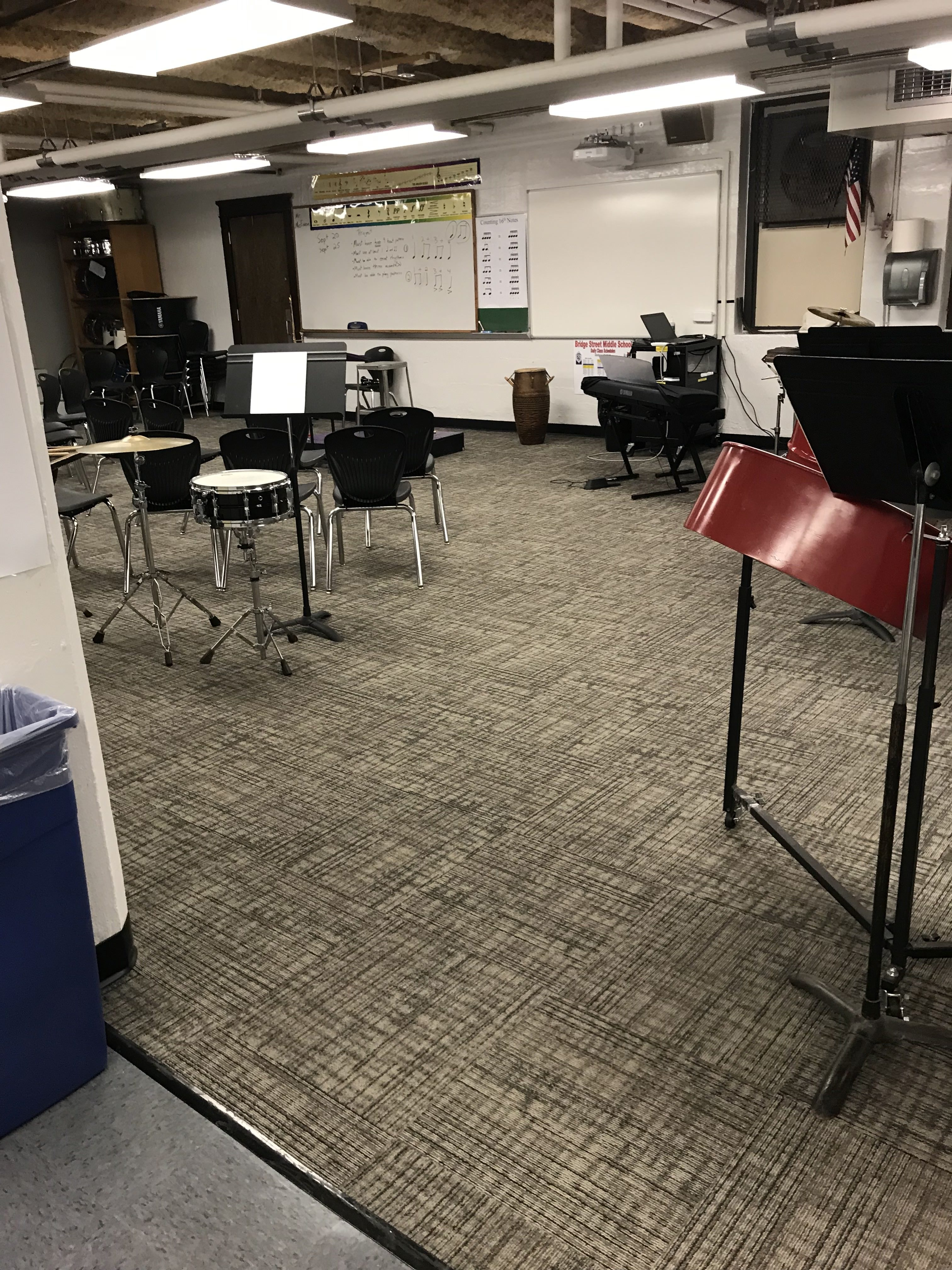 Music Room renovations
