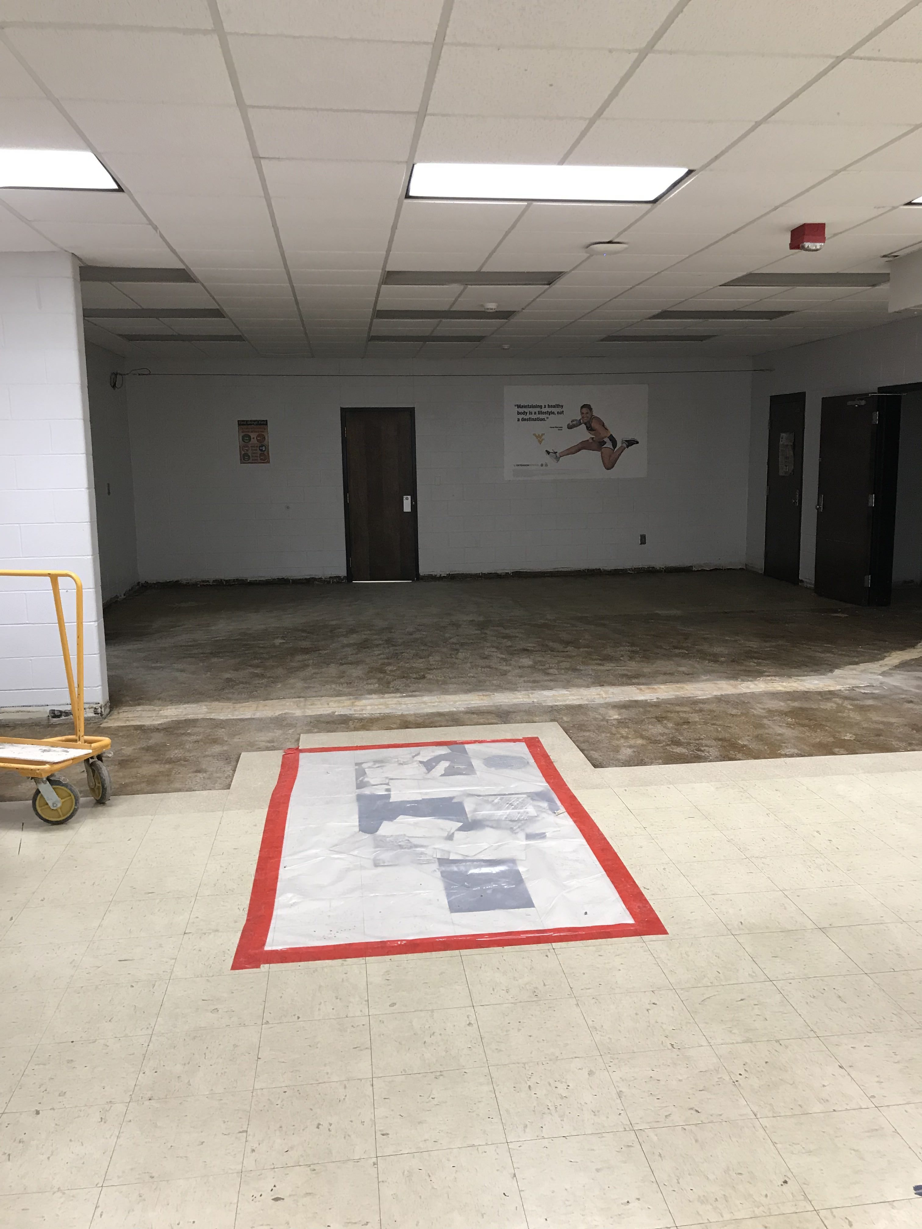 Cafeteria renovations