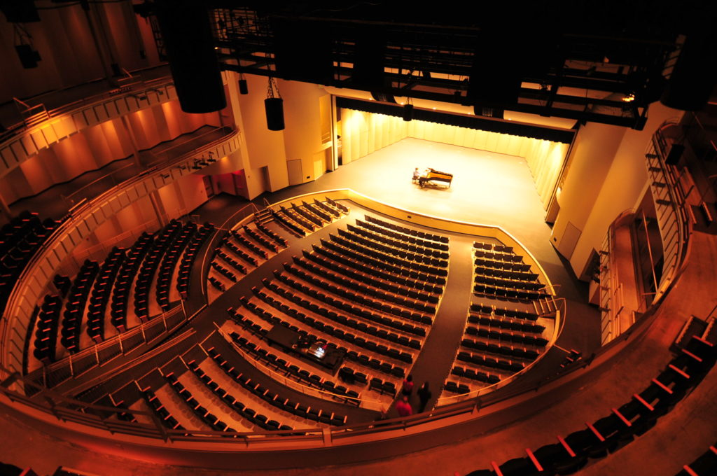 The J B  Chambers Performing Arts Center, designed by Ray